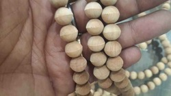 Sandalwood White Rosary