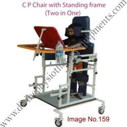 Standing Frame with Cerebral  Palsy  Chair
