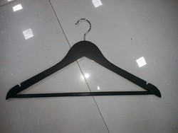 Wooden Hanger Matt Black