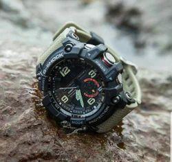 Green G Shock Mudmaster Wrist Watch