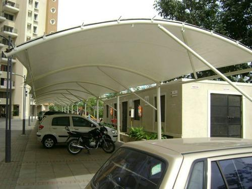 Car Parking Tensile Structure Residential Car Parking