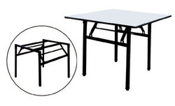 Rectangular Wooden Folding Table, For Home, Size: 3 X 3
