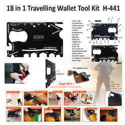 18 in 1 Traveling Wallet Tool Kit H-441