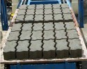 Interlocking Zag Concrete Bricks