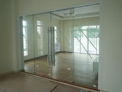 Tempered door glass images glass door design door partition at rs 850 square feet partitions sky interiors tempered glass door planetlyrics images planetlyrics Gallery
