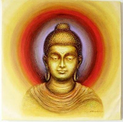 Gautam Buddha 12 Paintings