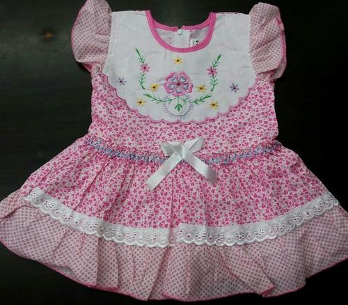 fb5db63ff32b Short Sleeve Cotton Baby Frock