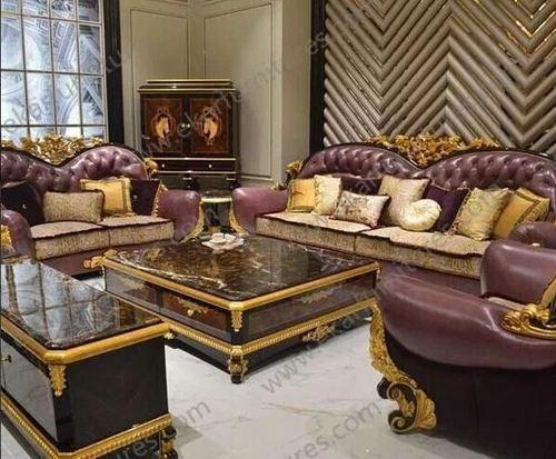 sofa set luxurious sofa set in teak wood manufacturer from