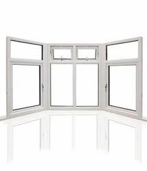 Glemtech White UPVC Bay Window