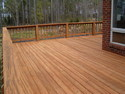 Wood Deck Floor