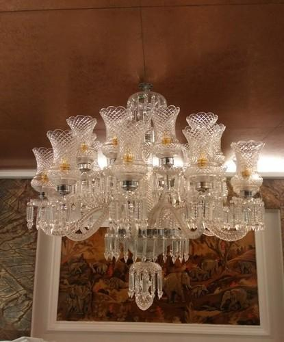 Traditional Glass Antique Chandelier