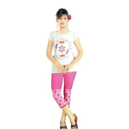 d6ccff45fe1c23 Fancy Ladies Capri, Ladies Capri, महिला कापरी - Stallion ...