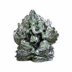 Sun Flower Ganesh Statue