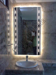 Square LED Mirror