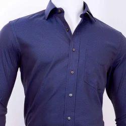 Cotton Men's Casual Plain Shirt