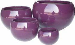 Shiny Planter Pot