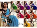 Cotton Casual Wear Saravanan Meenatchi Sarees, 6.3 M (with Blouse Piece)
