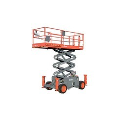 SJ 6826 RT Rough Terrain Scissor Lift