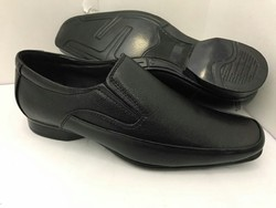 Recto Black Formal Shoe, Size: 7-11