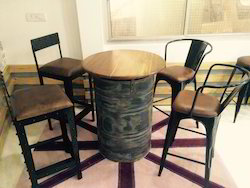 Drum Bar Table
