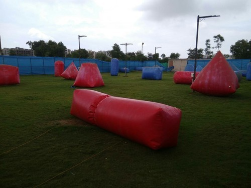 Inflatable Sports Tunnel - Ground Jumping Inflatables
