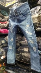 Girls Stretchable Denim Jeans