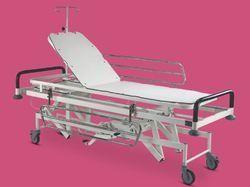 Universe surgicals Maroon Hydraulic Stretcher Trolley