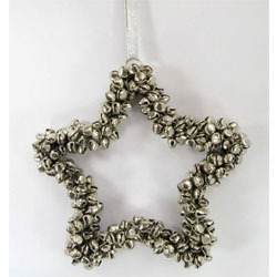 Jingle Bell Hanging Star