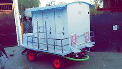 6 Seater FRP Mobile Toilet