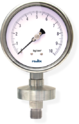 Economy Pressure Gauge With Welded Sealed Unit