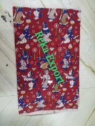 200 GSM Kalamkari Printed Fabric