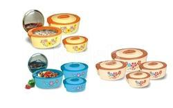 Oval Thermoware 4 Pcs Set