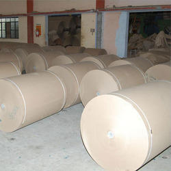 Poly Coated Grey Back Paper