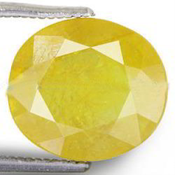 6.3 Carats Yellow Sapphire