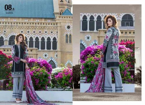 08e4e7547f Sahil Vol 6 Embroidered Lawn Collection - Sahil Vol 6 Embroidered Lawn  Suits Wholesale Distributor from Surat