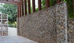 Natural Stone Mosaic Tile for Boundary Wall