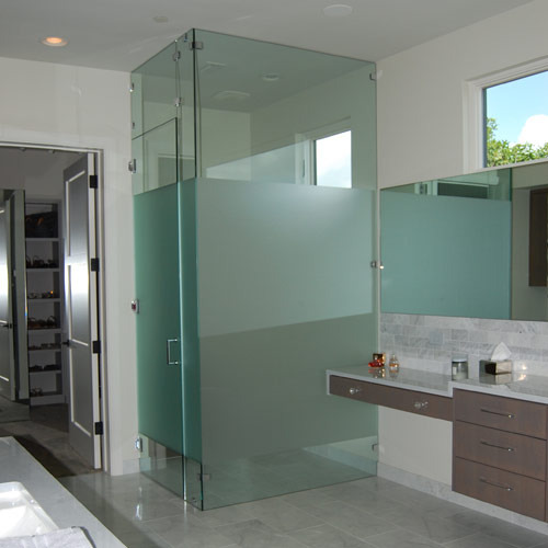 Glass Bathroom Partition At Rs 48 Square Feet Banjara Hills Magnificent Bathroom Partition