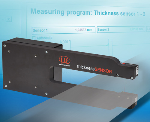 Micro Epsilon Non-contact Thickness Measurement: Thickness Sensor for  Industrial, | ID: 13565816062