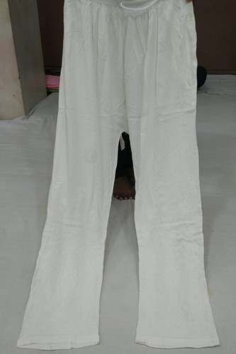 Black, Red And White Available Rayon cotton pant