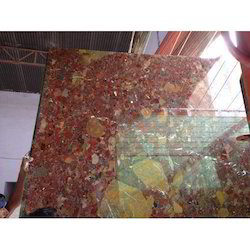 Natural Red Marble