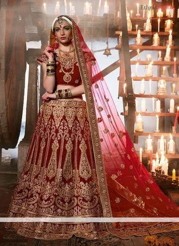 792cc64930a3 Heavy Work Bridal Lehenga Choli at Rs 3000 /piece | Bridal Lehenga ...
