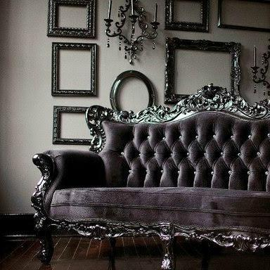 Gothic Living Room Sofa