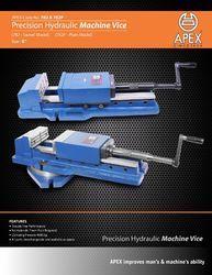 Precision Hydraulic Machine Vice Plain