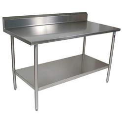 Stainless Steel SS Work Table, Number of Shelves: 2