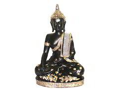 Polyresin Royal Sitting Buddha Religious Idol Statue