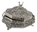 Silver Plated Dryfruit Box
