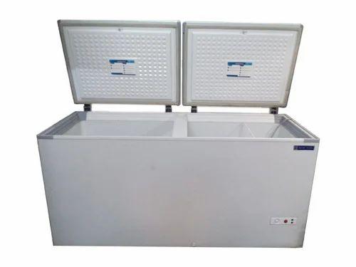 chest refrigerator chest deep freezer small chest freezer khushi enterprises faridabad id. Black Bedroom Furniture Sets. Home Design Ideas