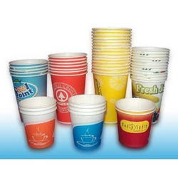 Apple Printed Paper Cup, Size: 60 - 150 mL