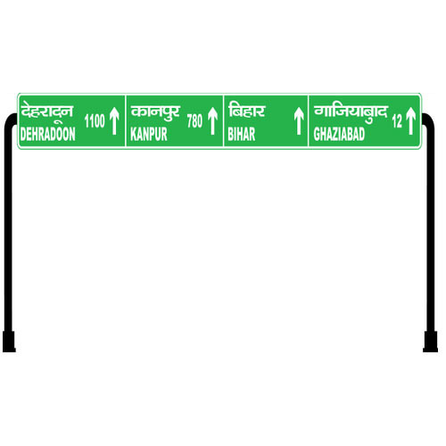 Overhead Gantry Sign Board