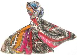 Wool Digital Print Shawls
